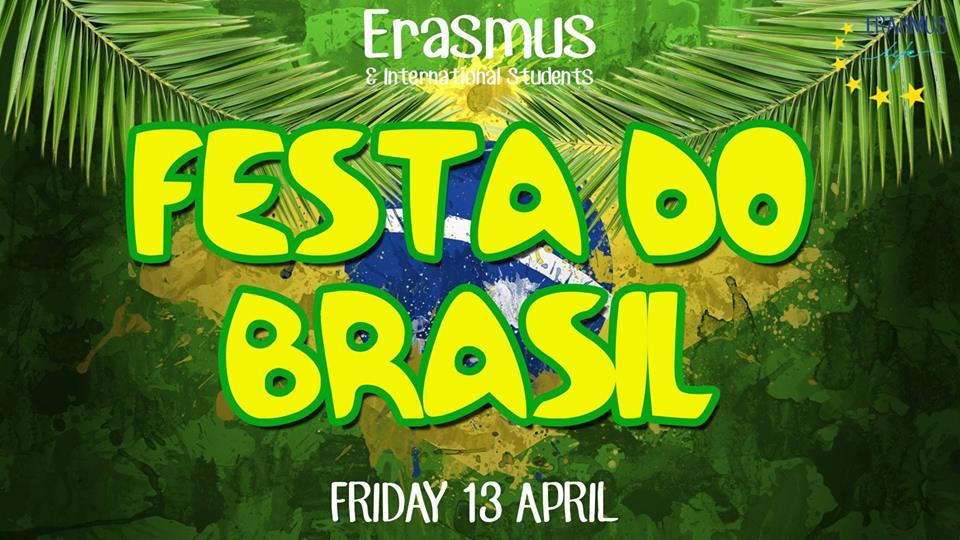 banner erasmus party