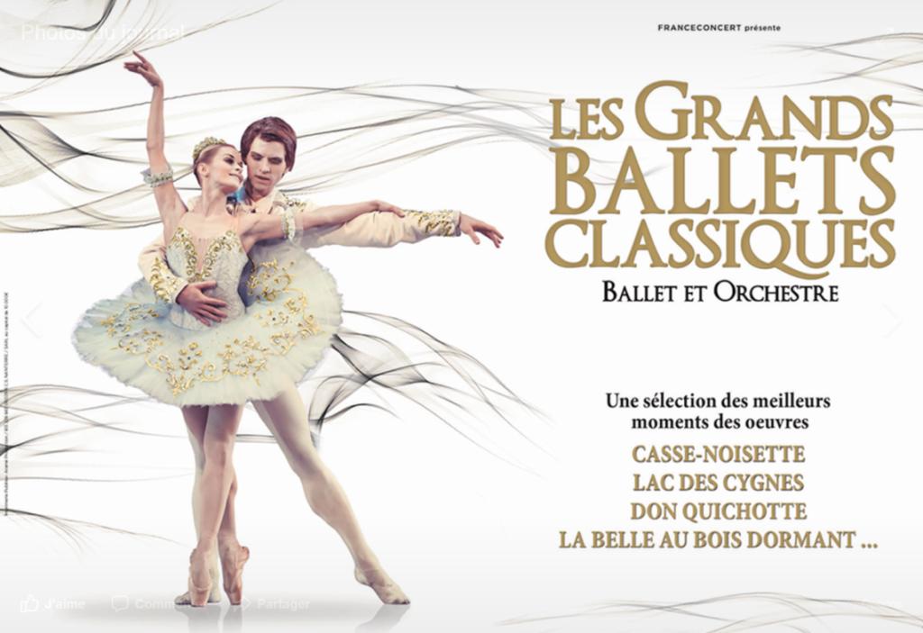 Les grands ballets classiques par le Bolchoï de Minsk