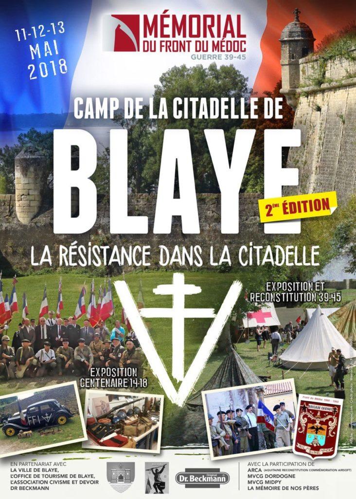 CAMP BLAYE 2018 LA RESISTANCE DANS LA CITADELLE