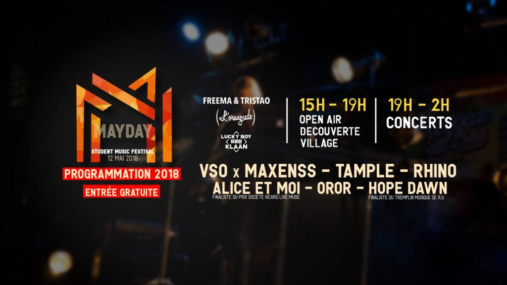 mayday festival in Talence