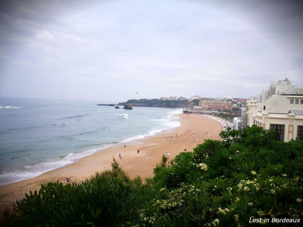 Grande Plage in Biarritz