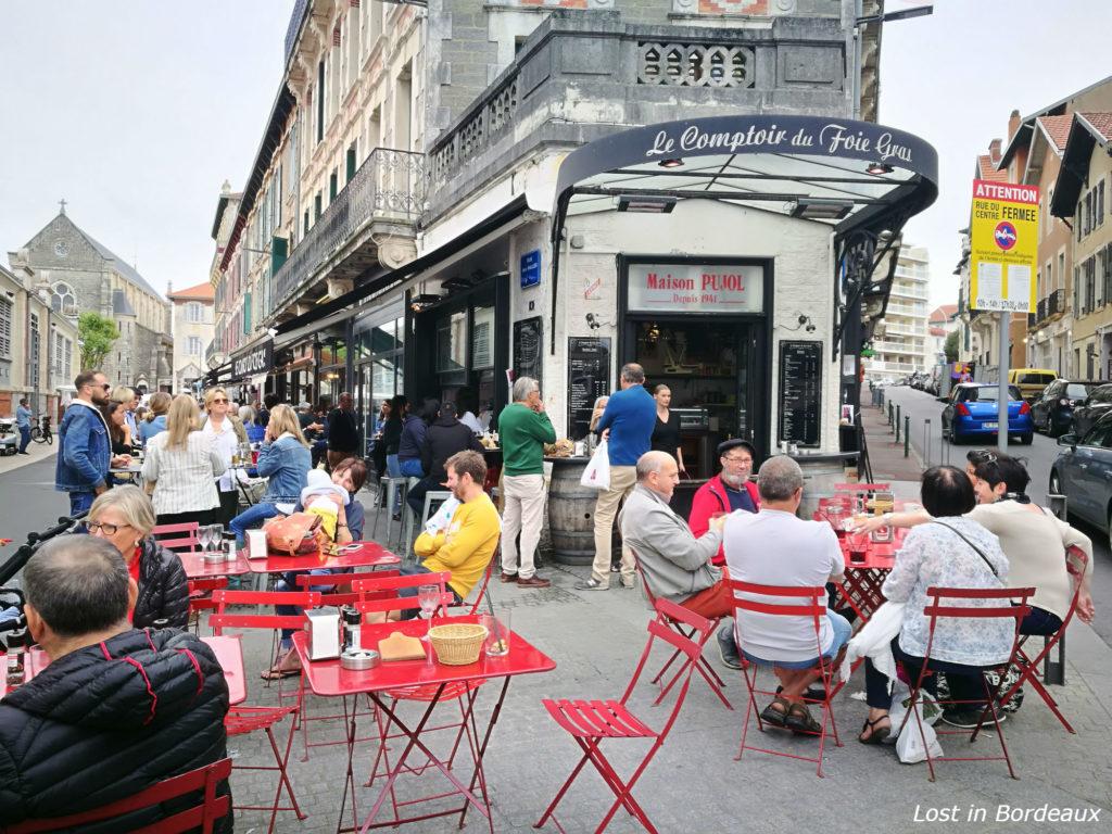 Le Comptoir du Foie Gras in Biarritz