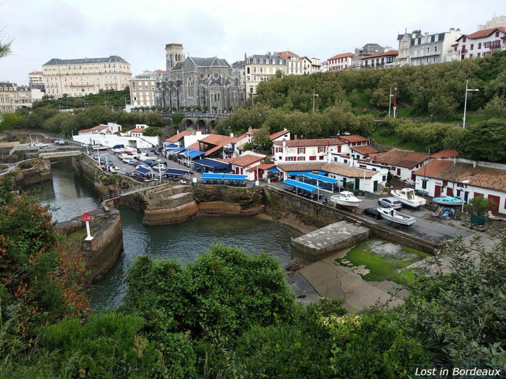 port des pecheurs biarritz