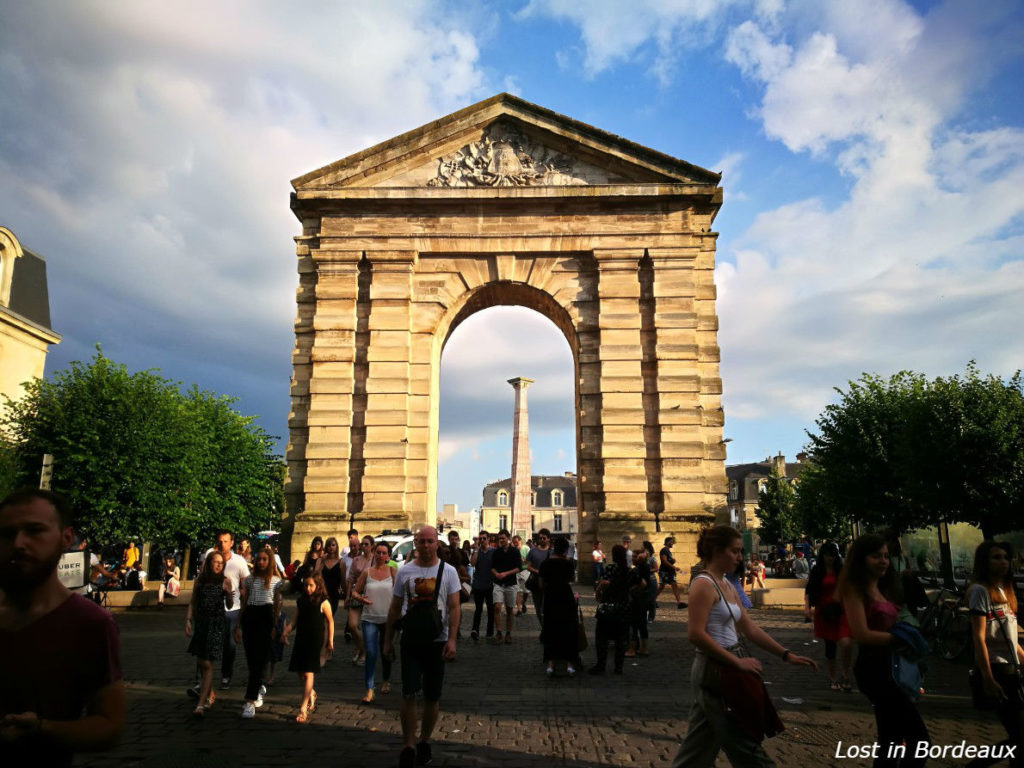 Place de la Victoire in Bordeaux