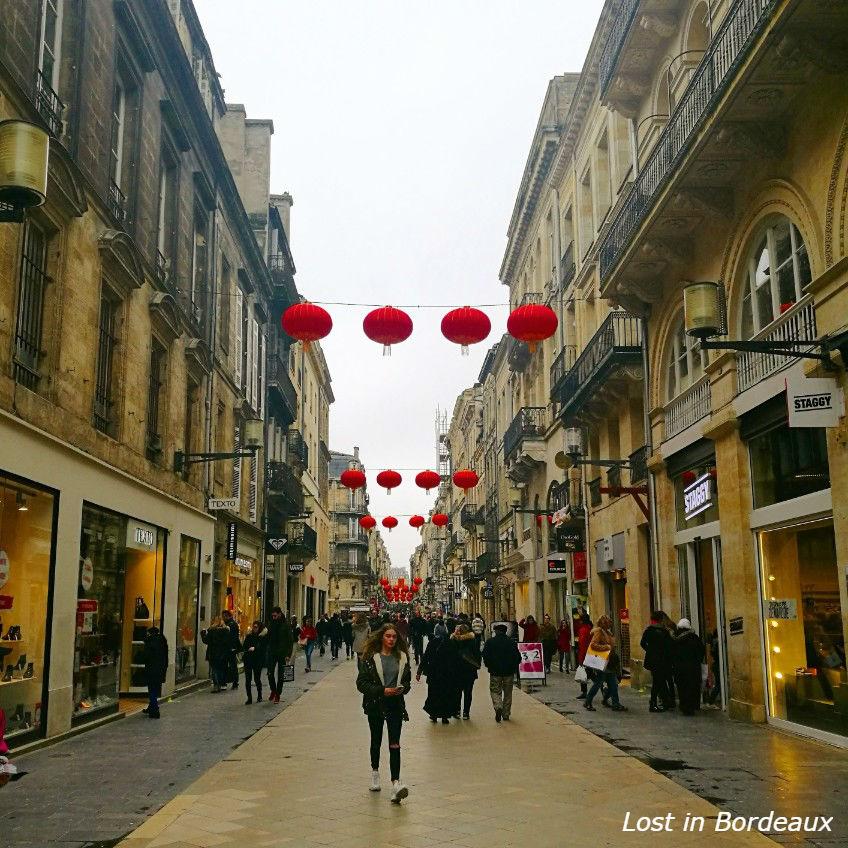 rue sainte Catharine Bordeaux