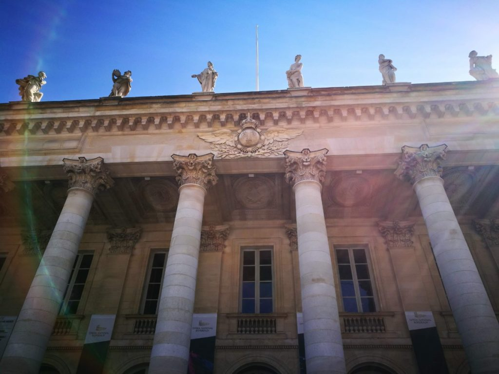 The Opera house of Bordeaux