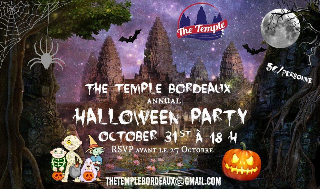 halloween temple