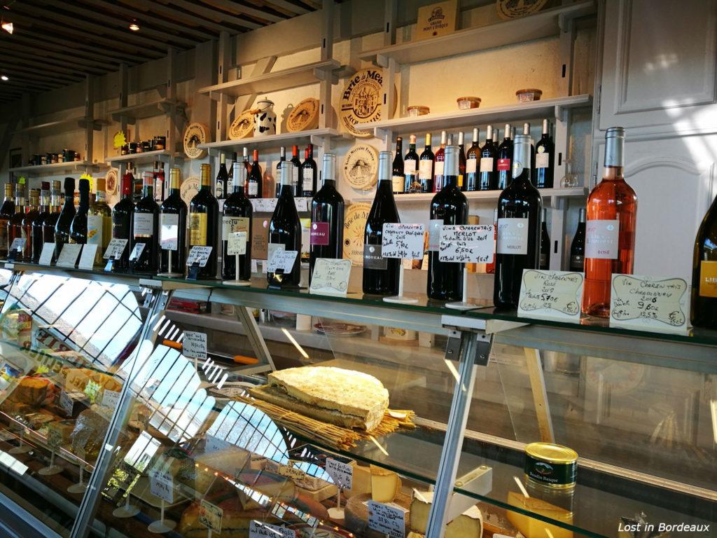 the market in Cognac
