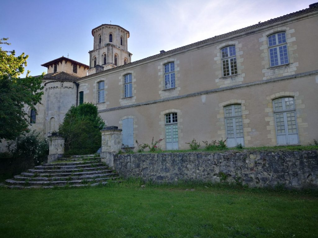 the Abbey of Vertheuil