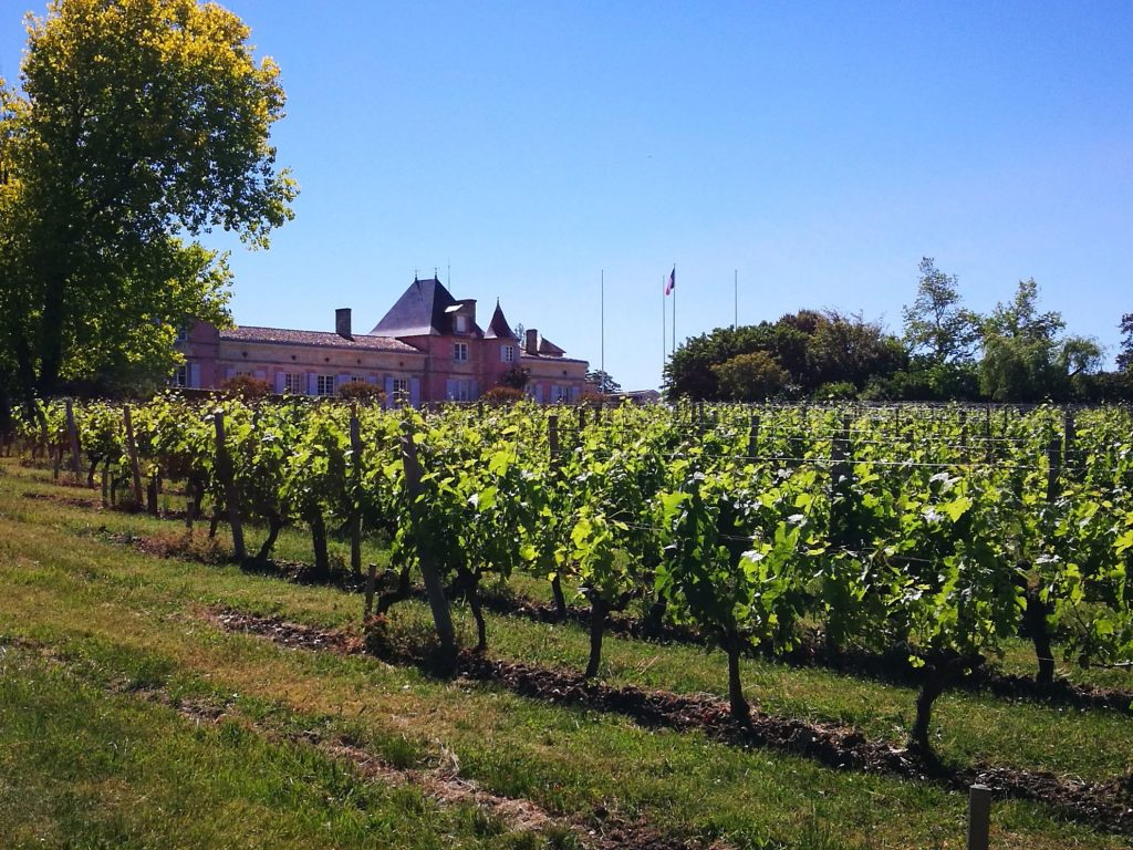 Chateau loudenne on the Medoc wine route