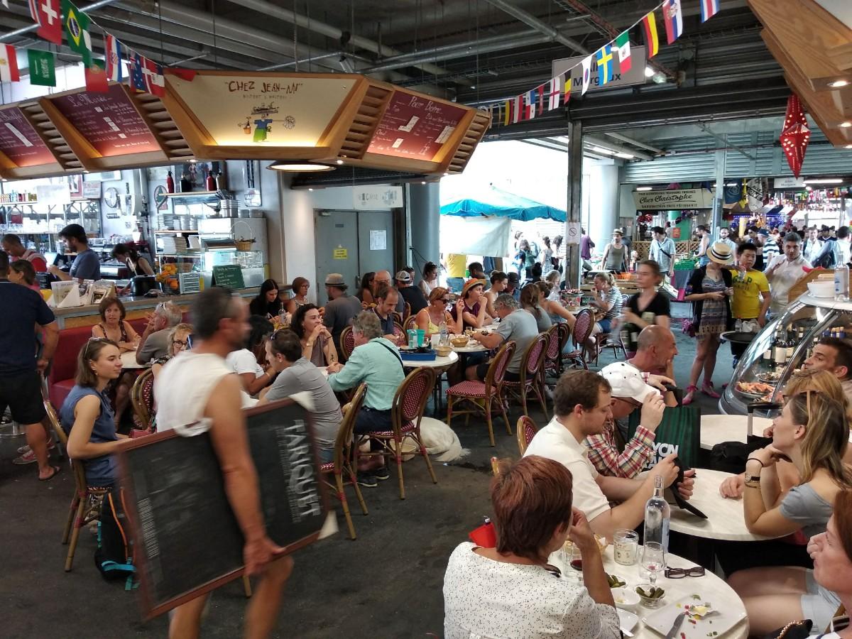 acheter en ligne a57cb 9a354 Bordeaux market - What to eat at Marché des Capucins - Lost ...