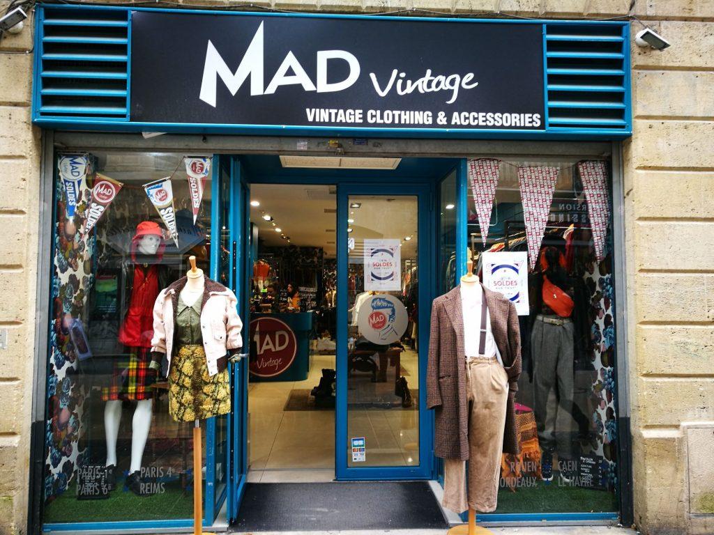 Mad vintage second hand Bordeaux