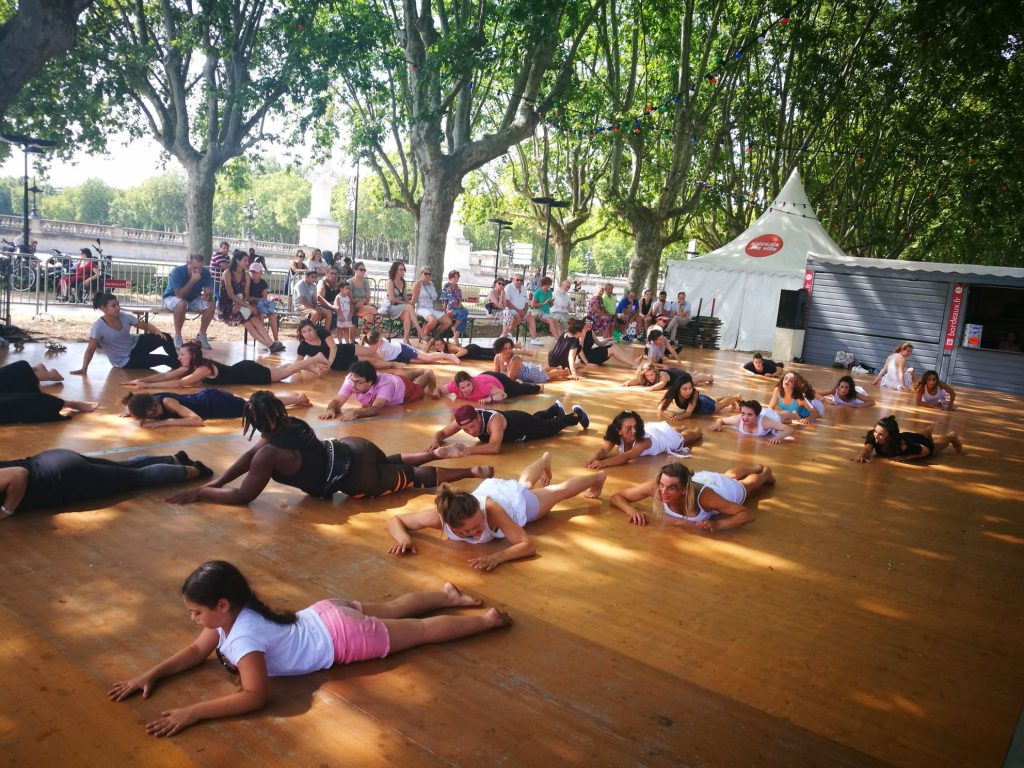 dancing classes on the riverfront