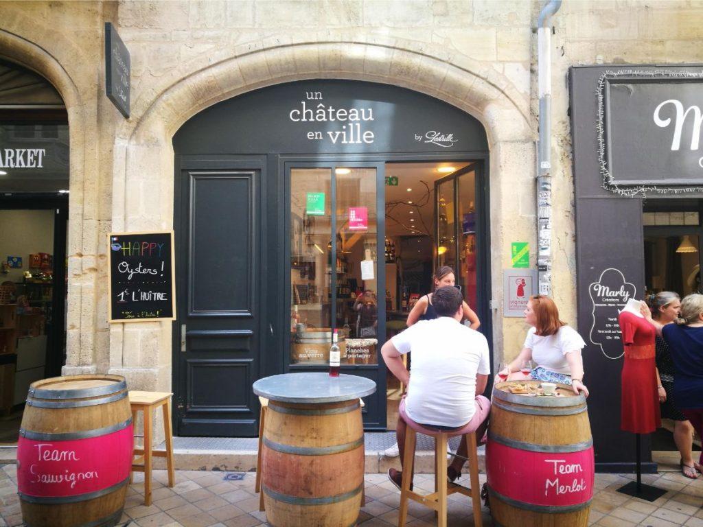 un chateau en ville Bordeaux