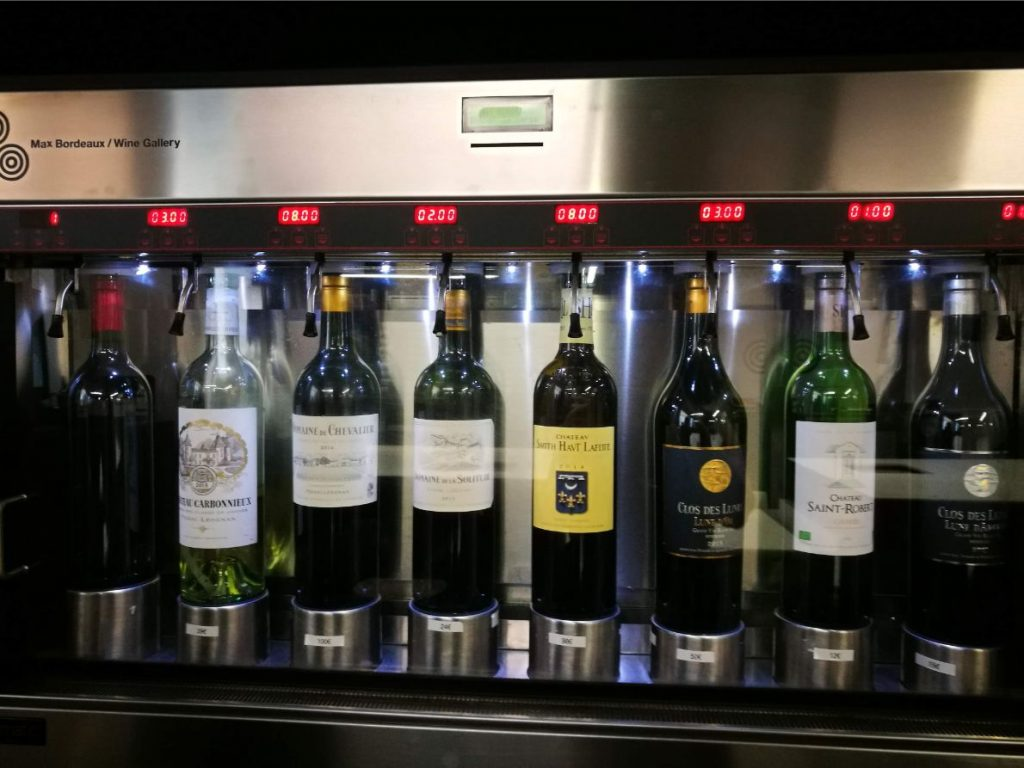 Max Bordeaux wine tastings