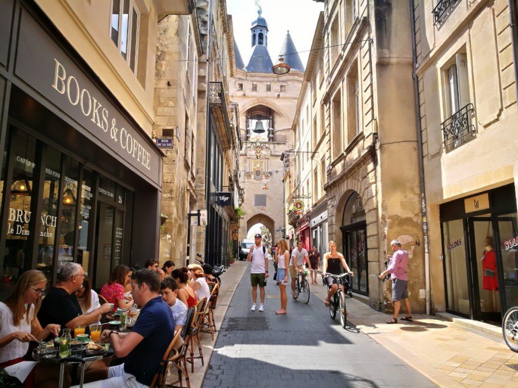 The center of Bordeaux