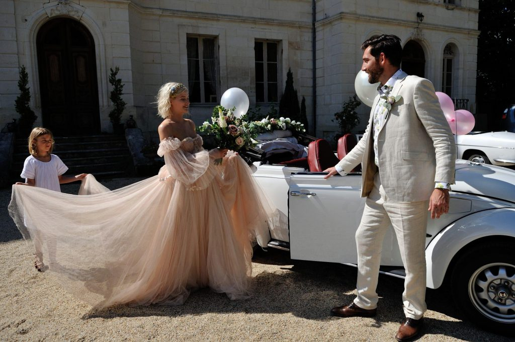 A wedding at chateau Fengari by Bruce Smith