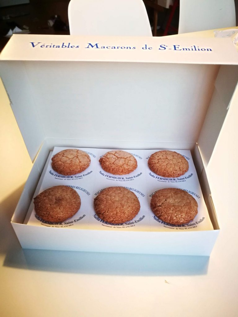 macarons of Saint Emilion