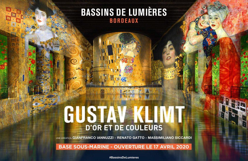 Gustav Klimt Bordeaux