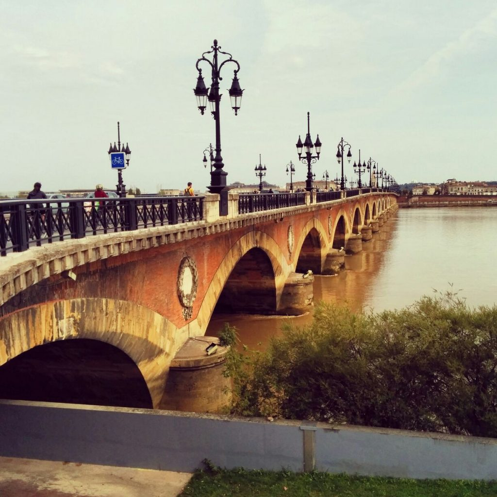 Pont Pierre in Bordeaux