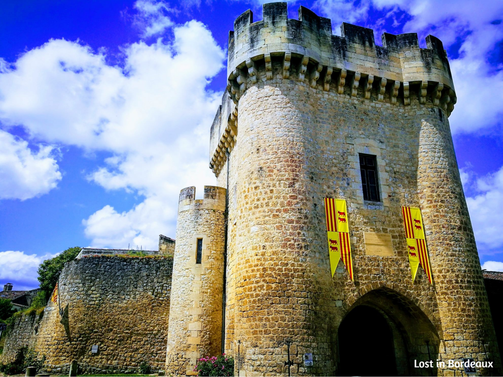 Rions - a medieval town in the South of Gironde