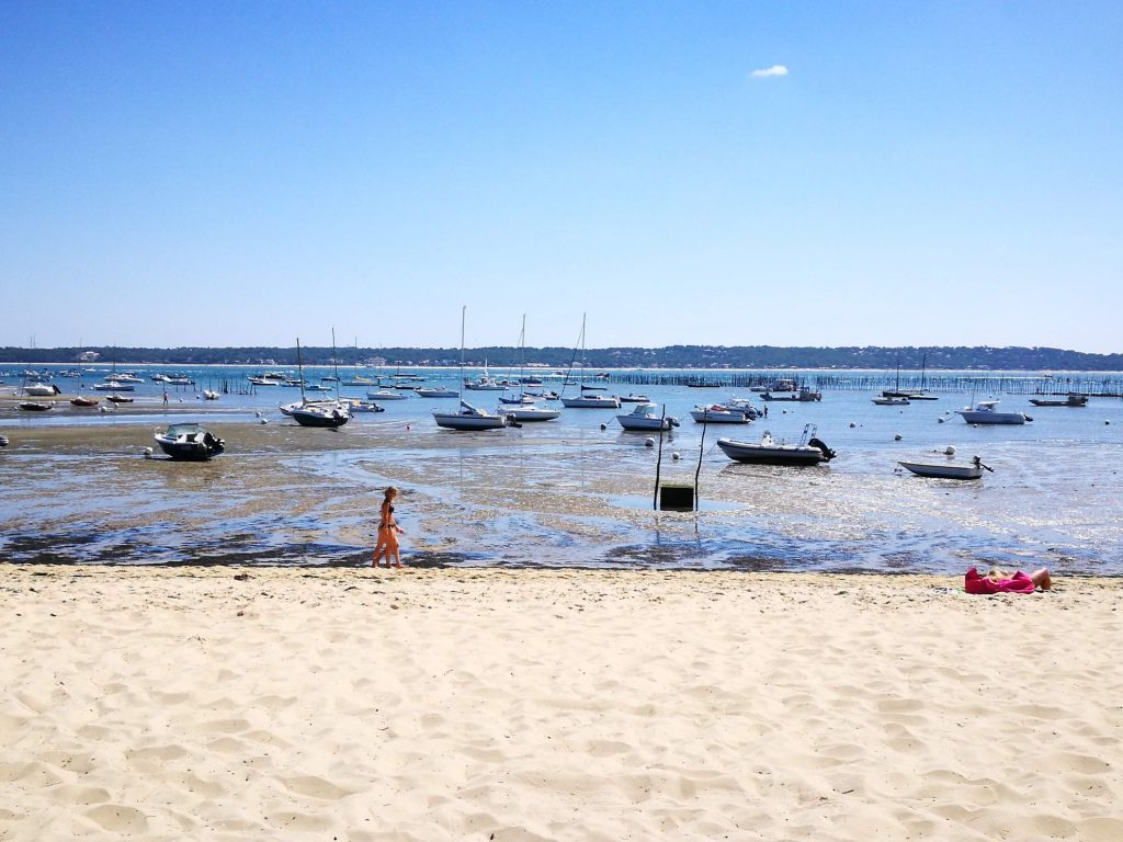 Cap Ferret one of the most popular destinations near Bordeaux