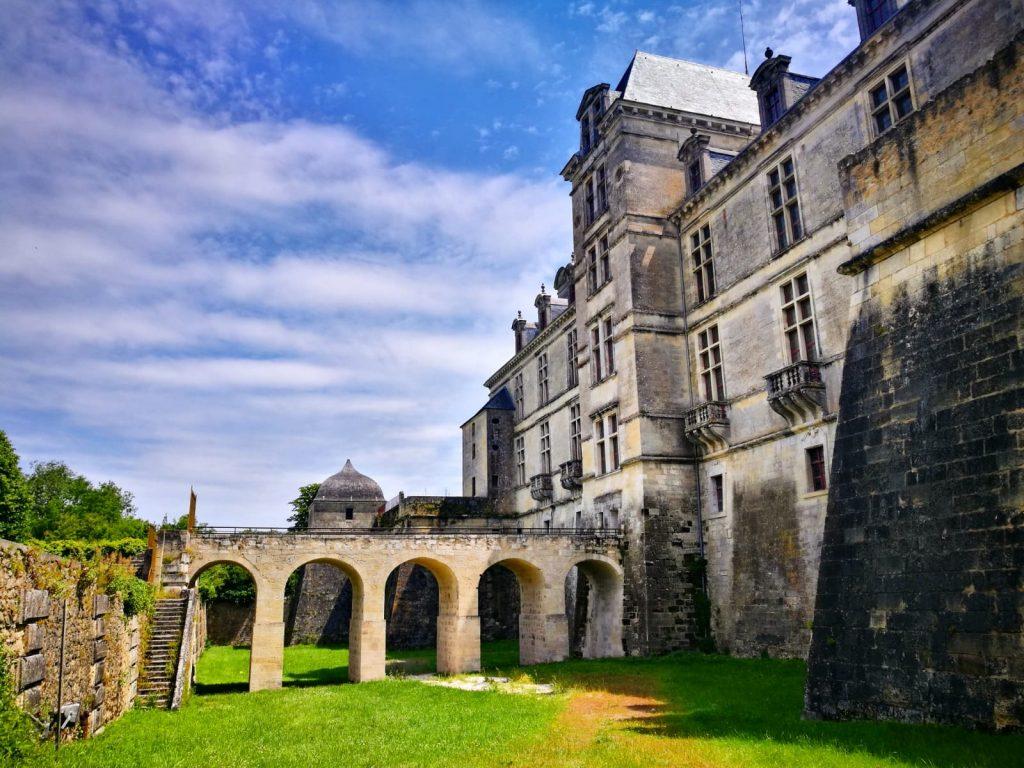 Cadillac - medieval village inGironde, France