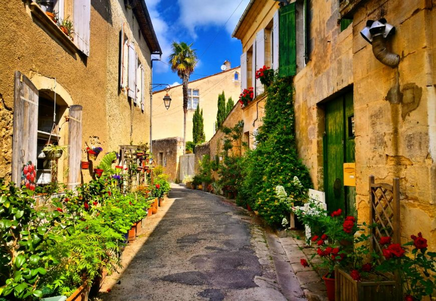 The most beautiful villages around Bordeaux, Gironde
