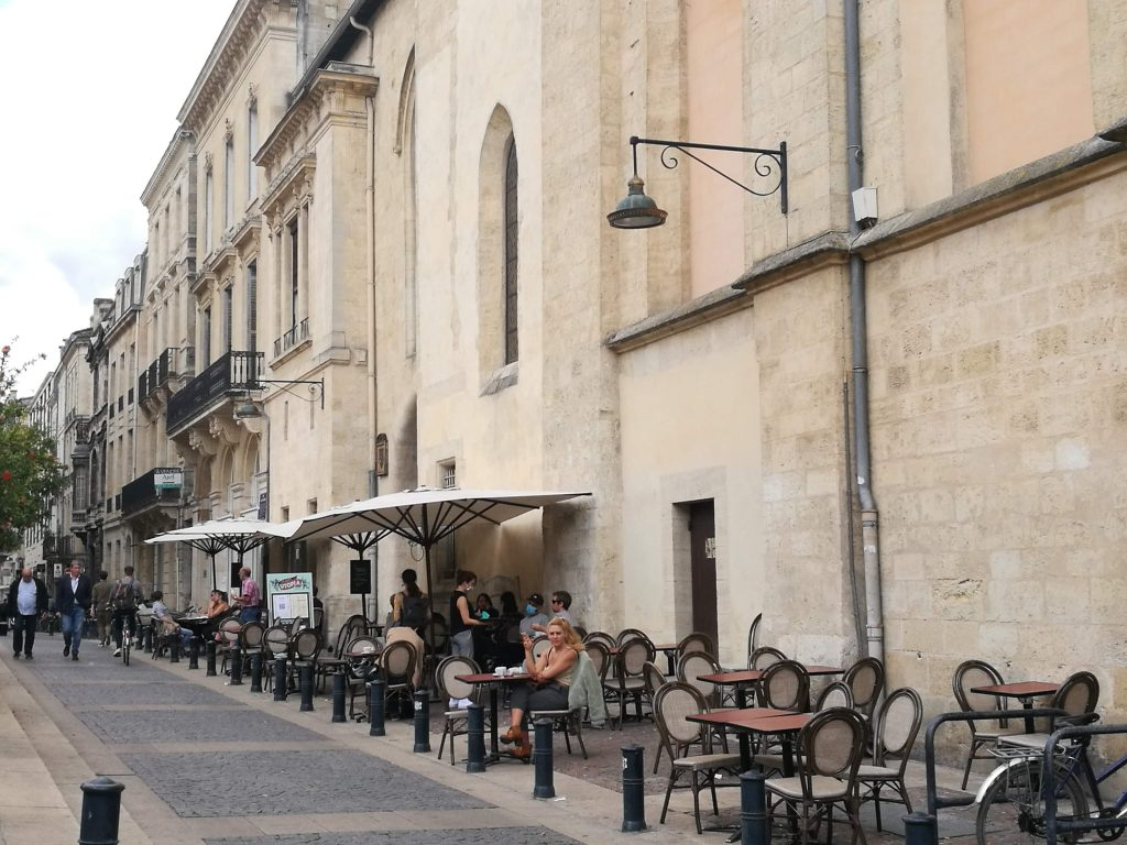 Cafe Utopia - one of the best terraces in Bordeaux