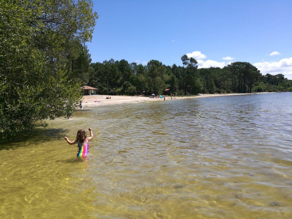 Plage Caton Lac Cazaux