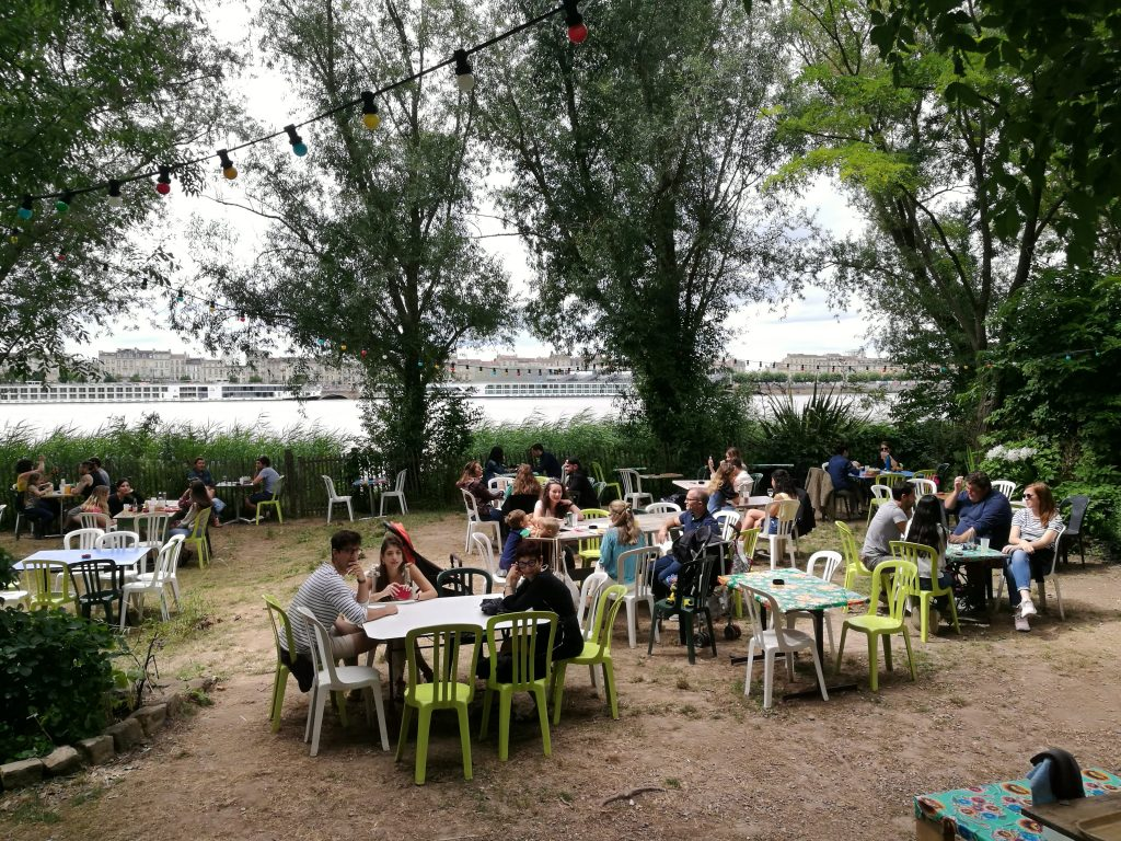 la guinguette chez alriq - the of the best summer bars in Bordeaux