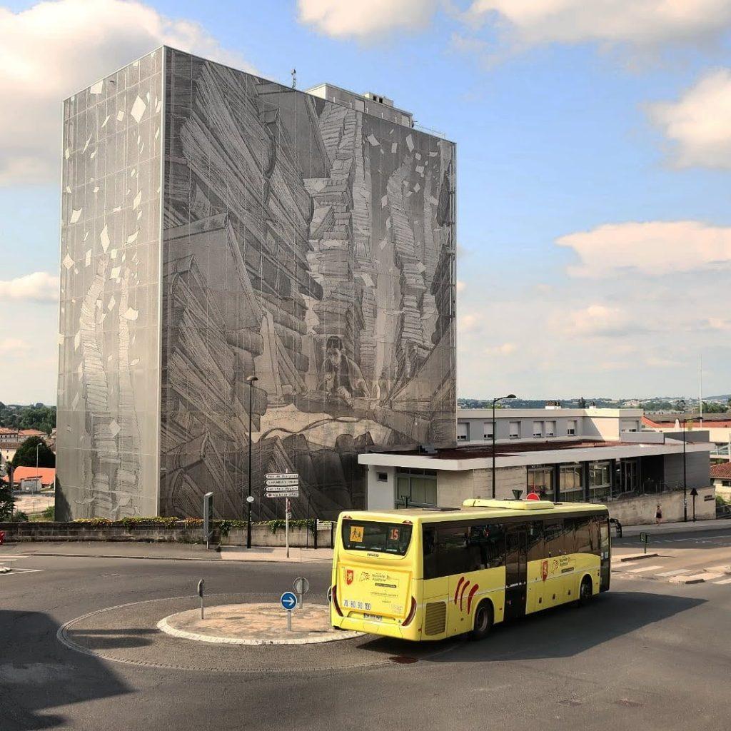 L'Archiviste - François Schuiten - street art angouleme