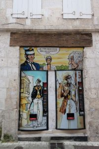 Street art in Angouleme France