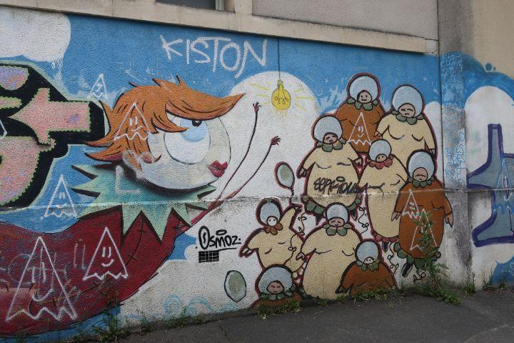 Street art Angouleme