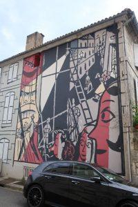 Les coulisses du theatre - street art Angouleme