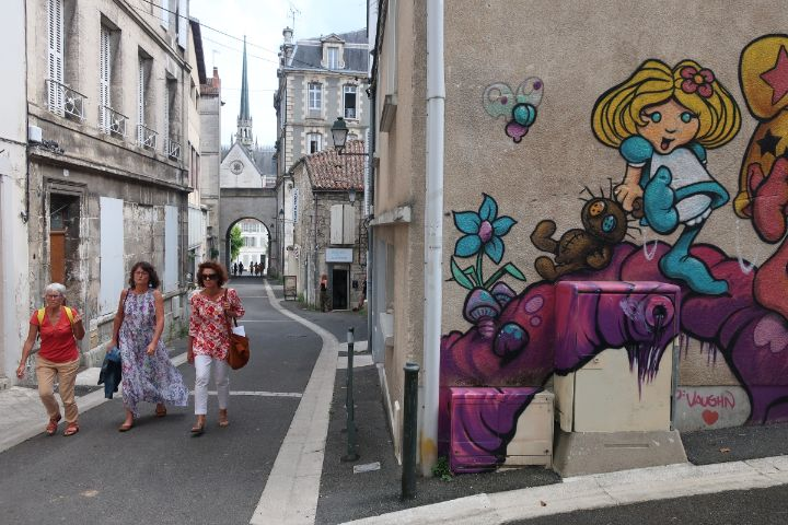 Street art in Angouleme France