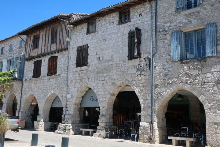 Eymet -Bastide towns in the southwest of France
