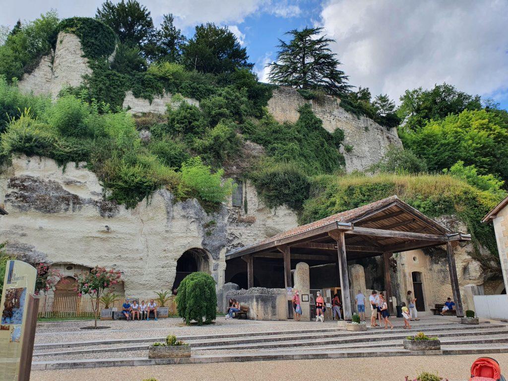 Eglise souterrain Saint-Jean - Aubeterre sur Dronne