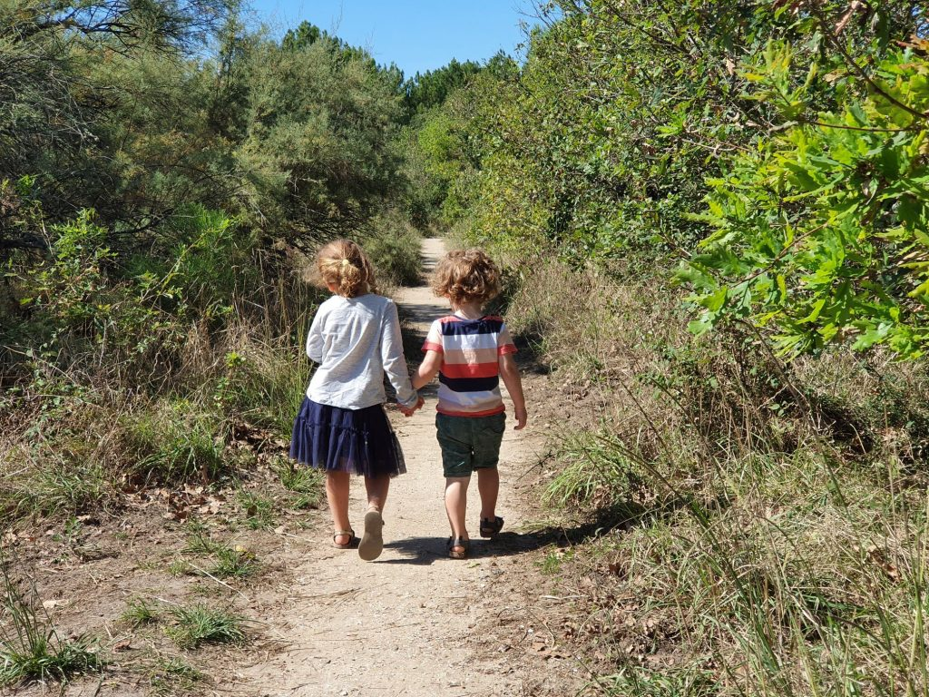 Hiking with kids in Ares, Arcachon