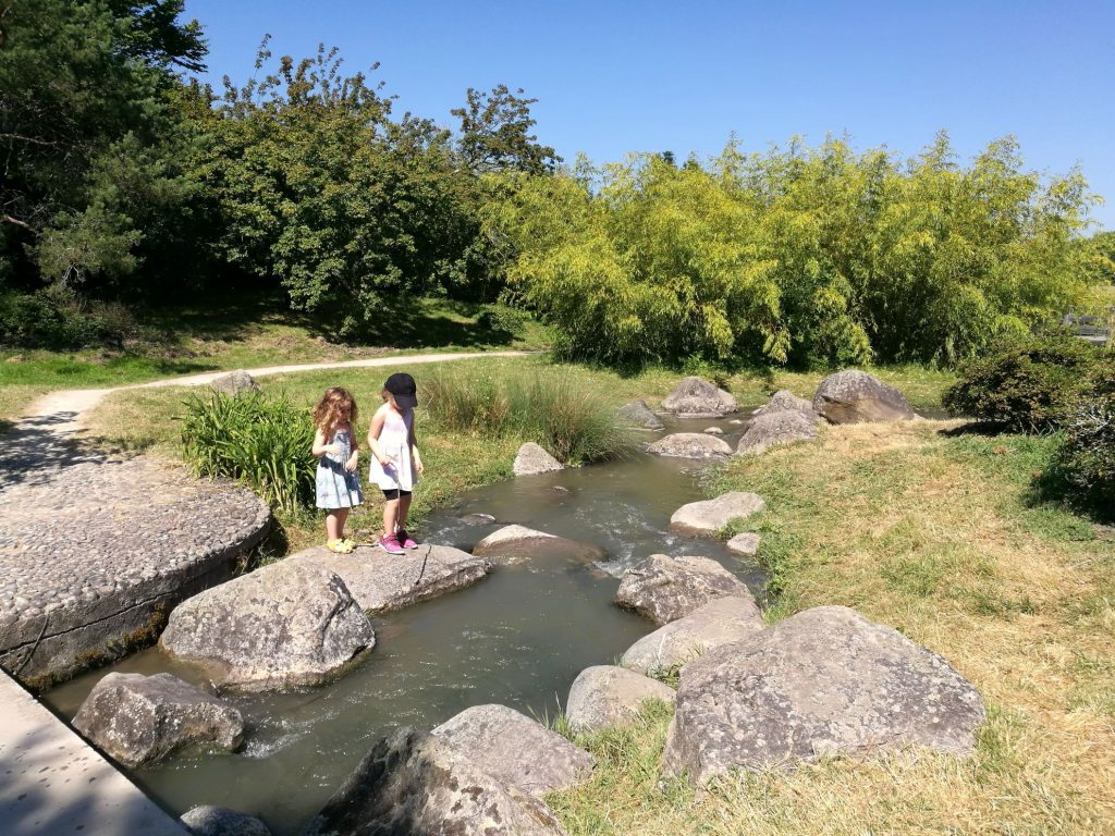 Parc floral in Bordeaux - one of the most kids friendly hiking trails in Bordeaux