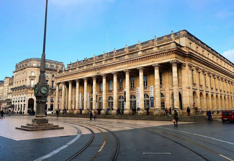 Opera house of Bordeaux